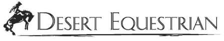 Desert Equestrian, Inc. NEW Document Logo